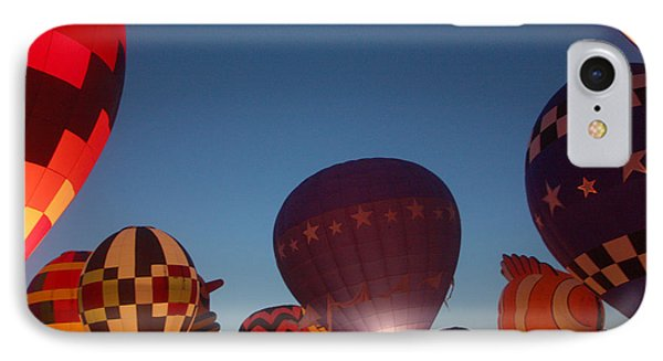 Balloon-glow-7808 Phone Case by Gary Gingrich Galleries