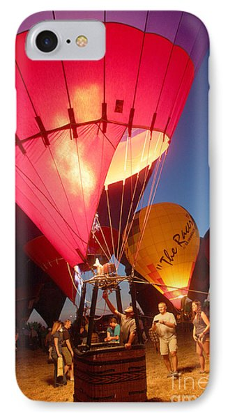 Balloon-glow-7831 Phone Case by Gary Gingrich Galleries