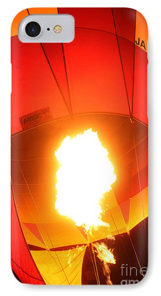 Balloon-glow-7917 Phone Case by Gary Gingrich Galleries