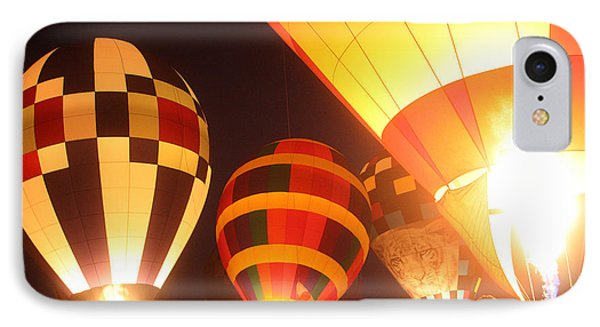 Balloon-glow-7950 Phone Case by Gary Gingrich Galleries