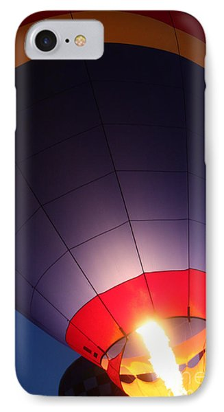 Balloon-glowpurple-7710 Phone Case by Gary Gingrich Galleries