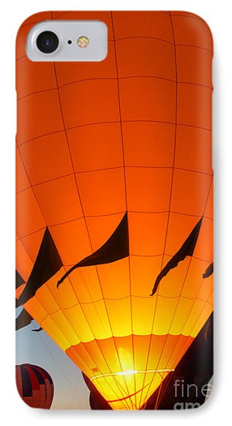 Balloon-glowyellow-7689 Phone Case by Gary Gingrich Galleries