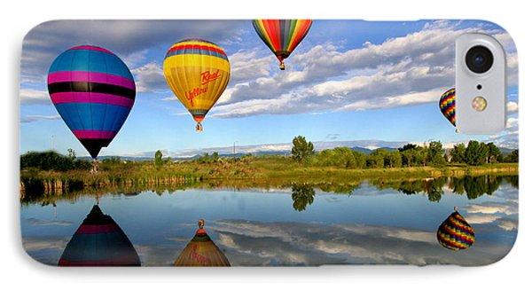 Balloon Horizon IPhone Case