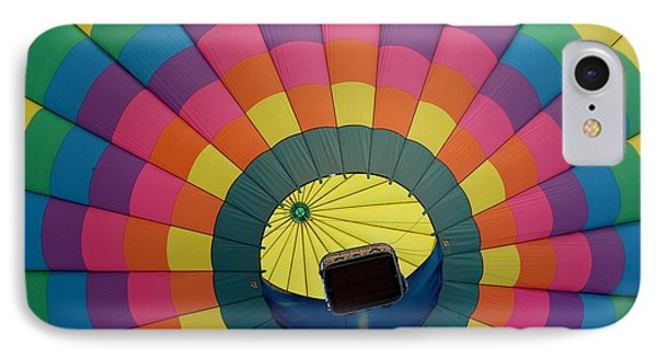Balloon Lift-off  IPhone Case by Patrick Shupert