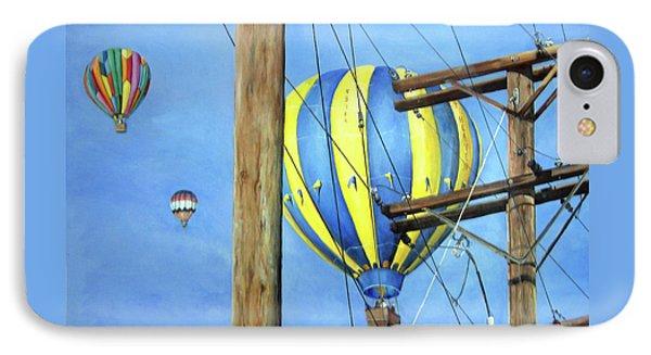 Balloon Race Phone Case by Donna Tucker