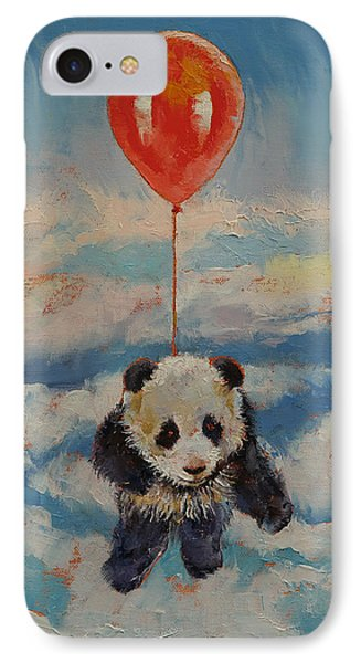 Balloon Ride IPhone Case by Michael Creese