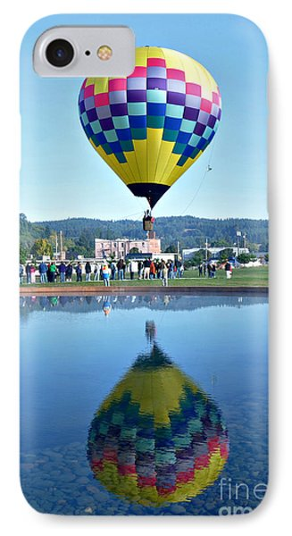 IPhone Case featuring the photograph Balloon Ride  by Mindy Bench