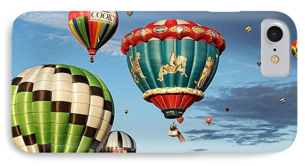 IPhone Case featuring the photograph Balloons Away by Dave Files