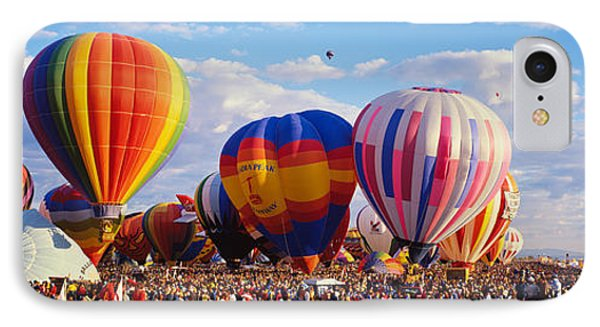 Balloons Being Launched IPhone Case by Panoramic Images