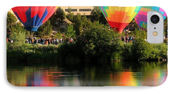 IPhone Case featuring the photograph Balloons Over Bend Oregon by Kevin Desrosiers