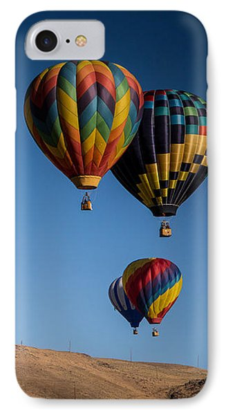 IPhone Case featuring the photograph Balloons Over Northern Nevada by Janis Knight