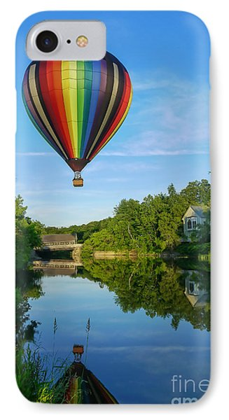 Balloons Over Quechee Vermont IPhone Case by Edward Fielding