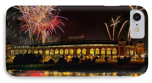 Ballpark Fireworks IPhone Case