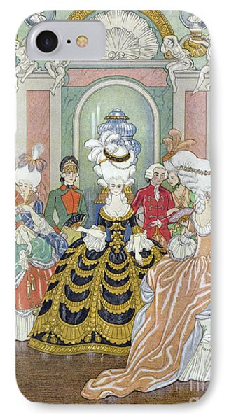 Ballroom Scene IPhone Case by Georges Barbier