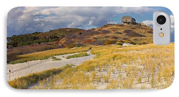 IPhone Case featuring the photograph Ballston Beach Dunes by Constantine Gregory