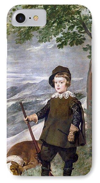 Baltasar Carlos (1629-1646) IPhone Case by Granger