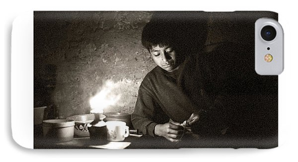 Baltazar Reading IPhone Case by Tina Manley