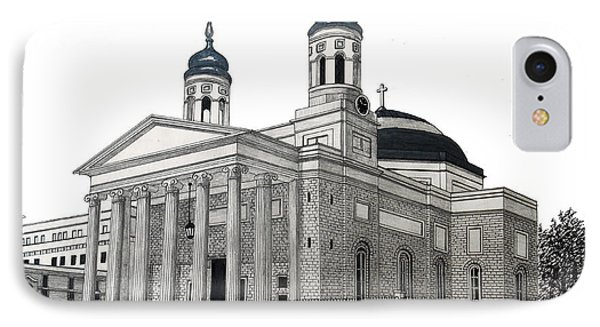 Baltimore Basilica IPhone Case by Frederic Kohli