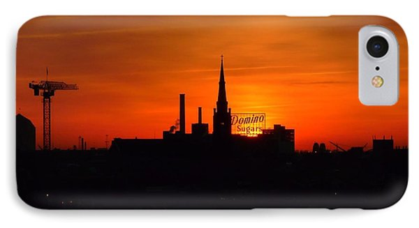 Baltimore Dawn IPhone Case by Robert Geary