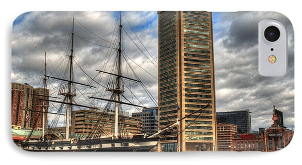 Baltimore Inner Harbor IPhone Case by Deborah Smolinske