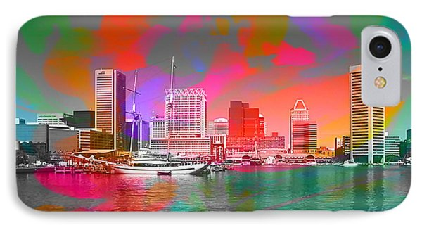 Baltimore Maryland Skyline IPhone Case