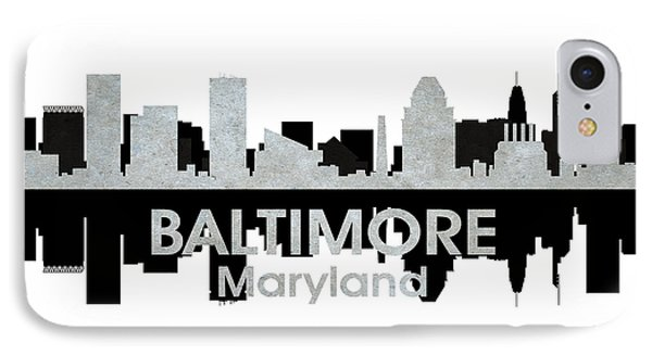 Baltimore Md 4 Phone Case by Angelina Vick