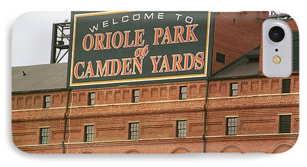 Baltimore Orioles Park At Camden Yards IPhone Case