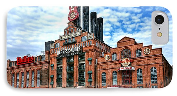 Baltimore Power Plant IPhone Case by Olivier Le Queinec