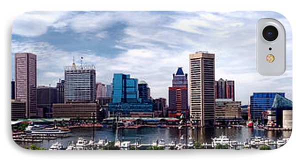 Baltimore Skyline - Generic IPhone Case by Olivier Le Queinec