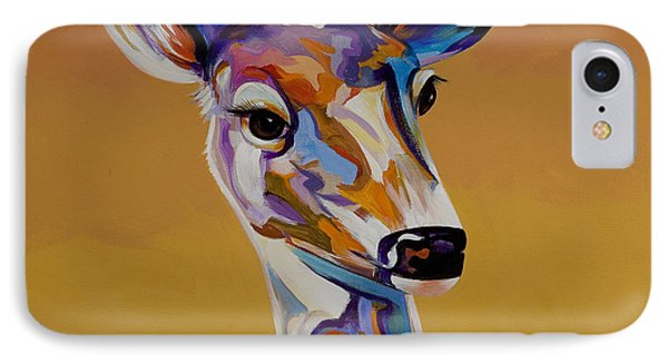 IPhone Case featuring the painting Bambi by Bob Coonts