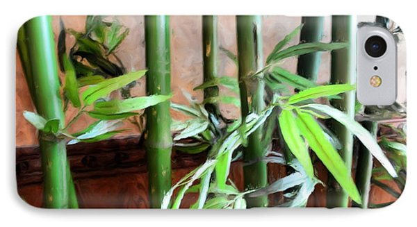 IPhone Case featuring the photograph Plant -  Bamboo  -  Luther Fine Art by Luther Fine Art