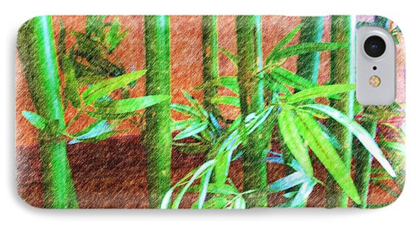 Bamboo #1 IPhone Case by Luther Fine Art