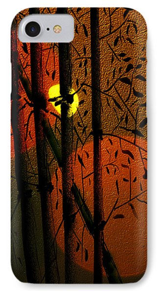 IPhone Case featuring the digital art Bamboo 2 by Dale Stillman