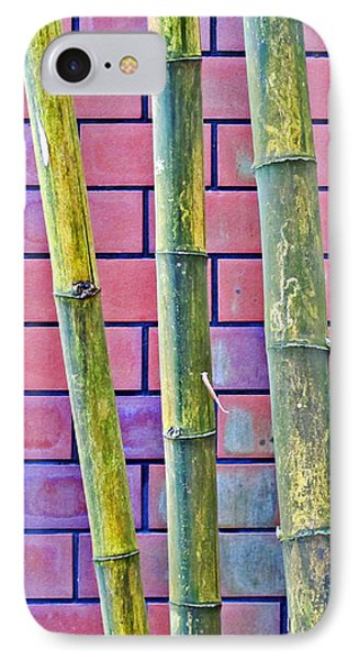 Bamboo And Brick IPhone Case