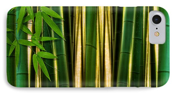 Bamboo Forest- Bamboo Artwork IPhone Case by Lourry Legarde