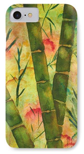 Bamboo Garden IPhone Case by Chrisann Ellis