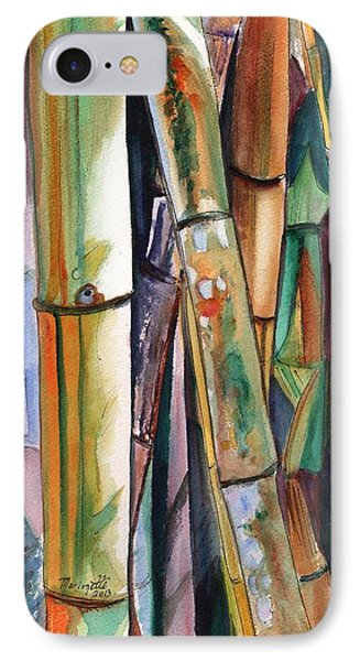 Bamboo Garden IPhone Case by Marionette Taboniar
