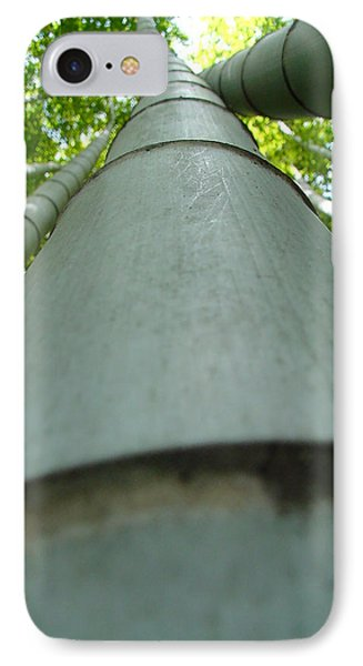 IPhone Case featuring the photograph Bamboo Grove In Morning by Larry Knipfing