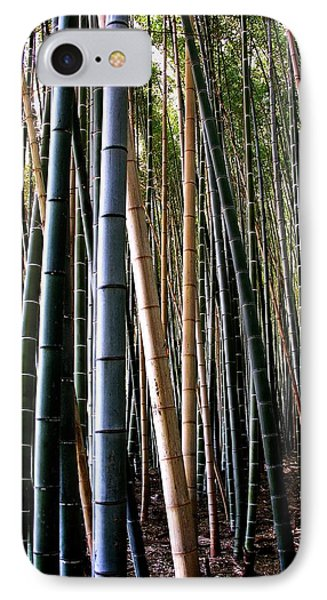 IPhone Case featuring the photograph Bamboo In Sagano Japan by Jacqueline M Lewis