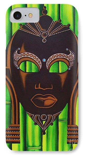 Bamboo Mask IPhone Case