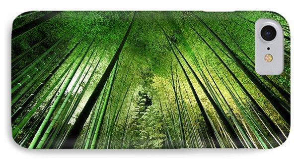 Bamboo Night IPhone Case