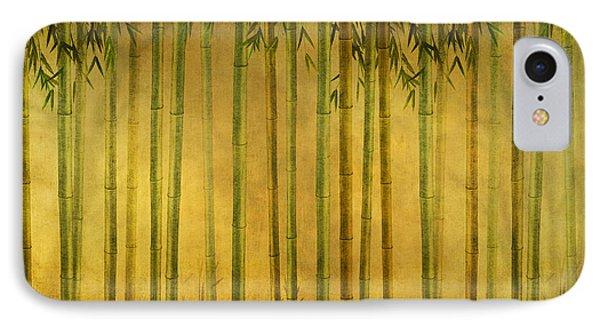 Bamboo Rising IPhone Case by Bedros Awak
