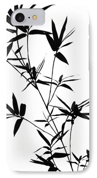 Bamboo Shadows Phone Case by Jenny Rainbow