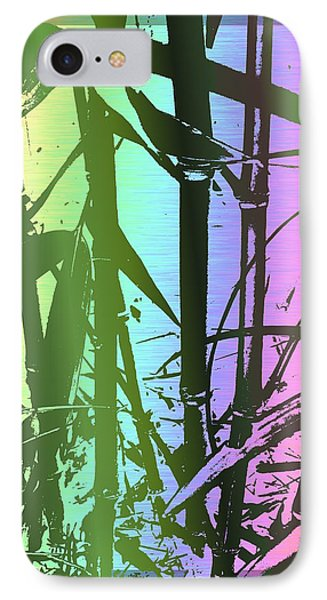 Bamboo Study 8 IPhone Case by Tim Allen