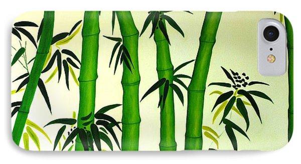 Bamboos Phone Case by Sonali Kukreja