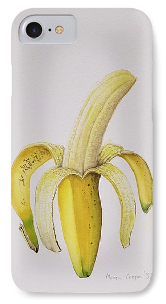 Banana IPhone 7 Case by Alison Cooper