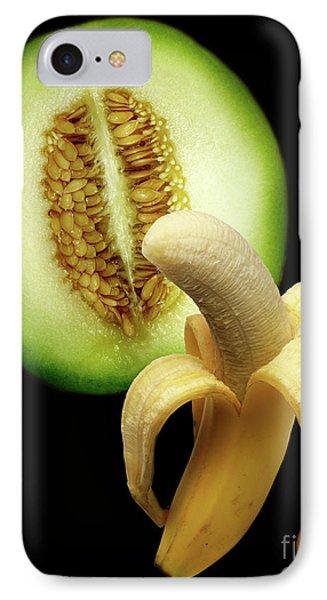 Banana And Honeydew IPhone Case by Peter Piatt