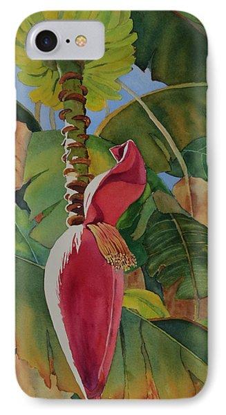 Banana Beginnings IPhone Case by Judy Mercer