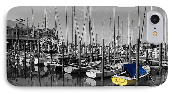 Banana Boat IPhone Case by Michael Thomas