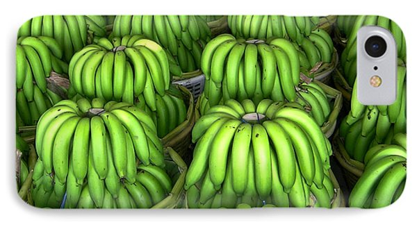 Banana Bunch Gathering IPhone 7 Case by Douglas Barnett